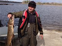 Весенняя рыбалка на Вуоксе